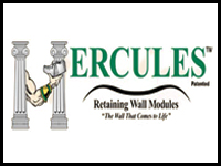 Hercules Green Retaining Wall Modules