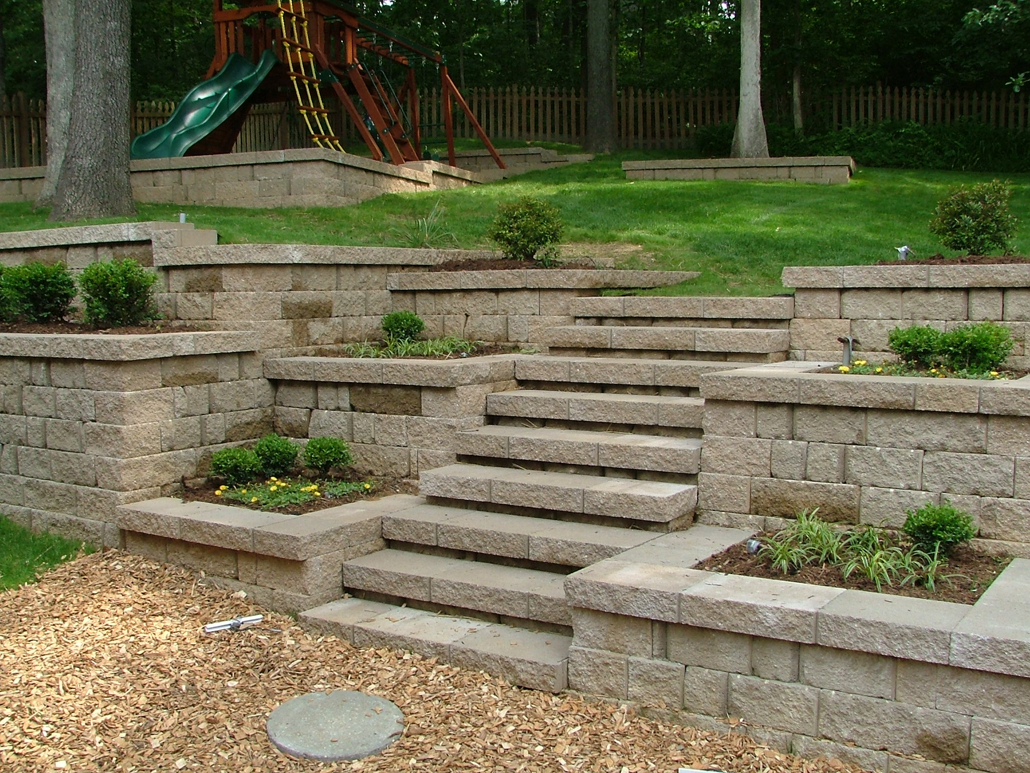 Retaining Wall Steps Album 2