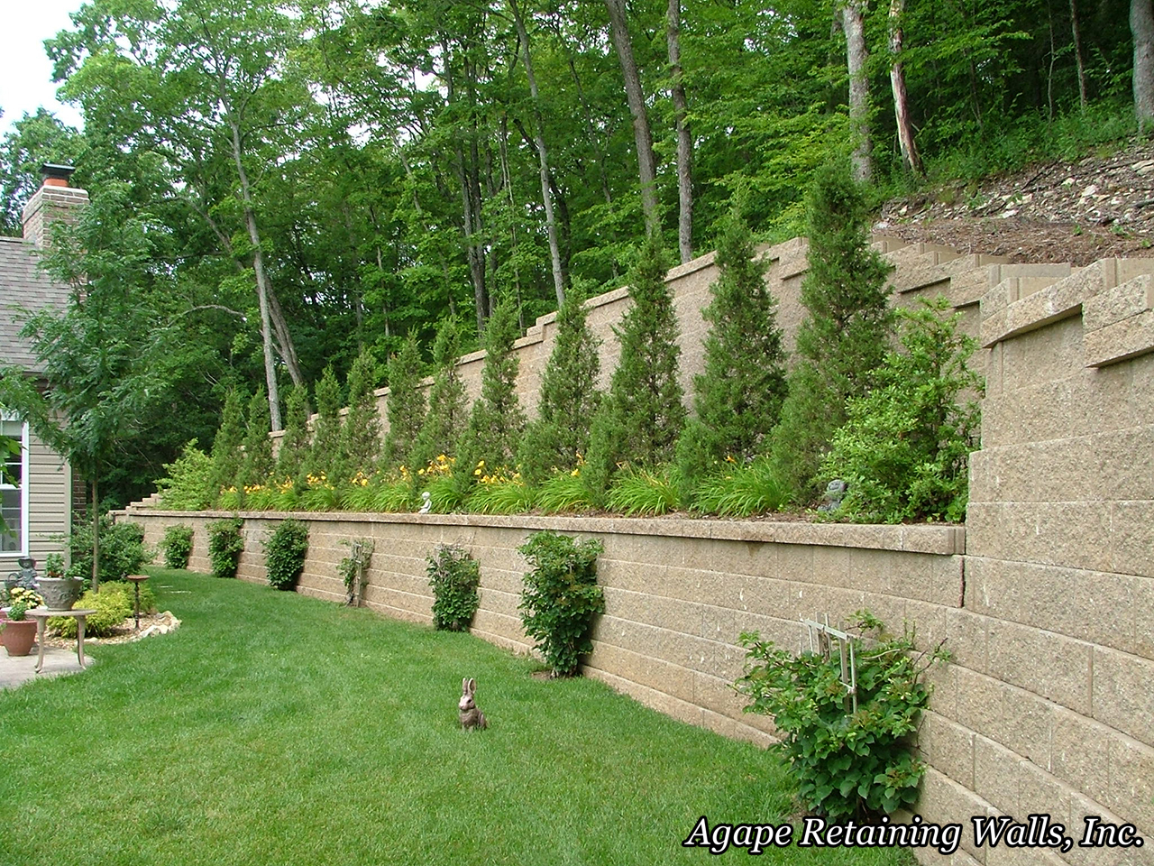 Charmant Retaining Wall Terrace Album 2