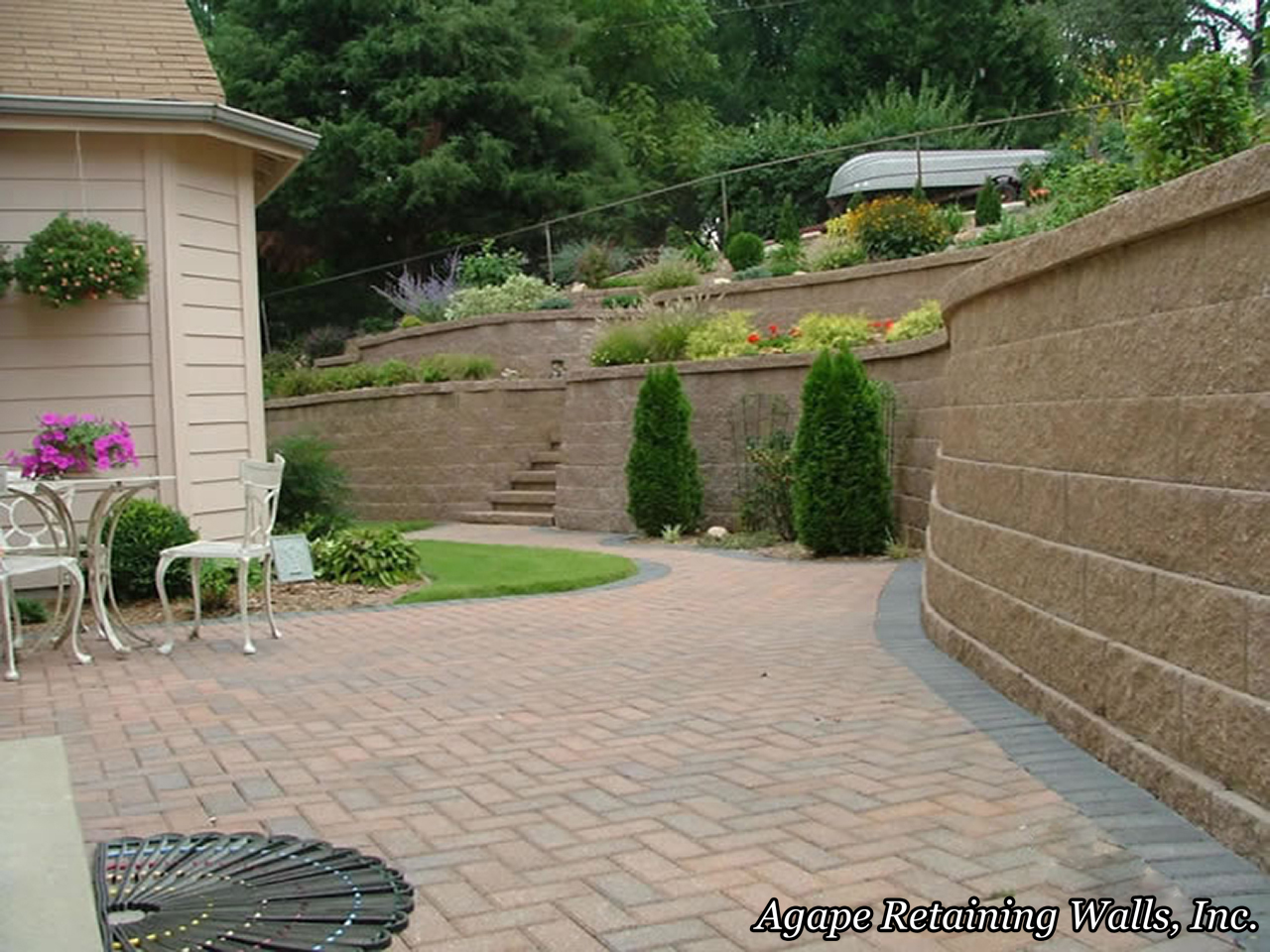 give her many years of relaxing time in her backyard garden paradise