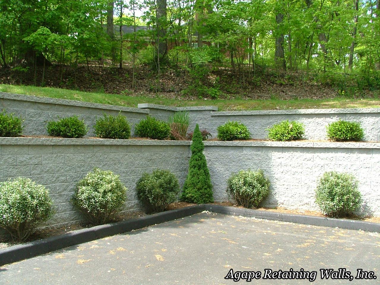 Agape Retaining Walls Inc Terrace Photo Album 4